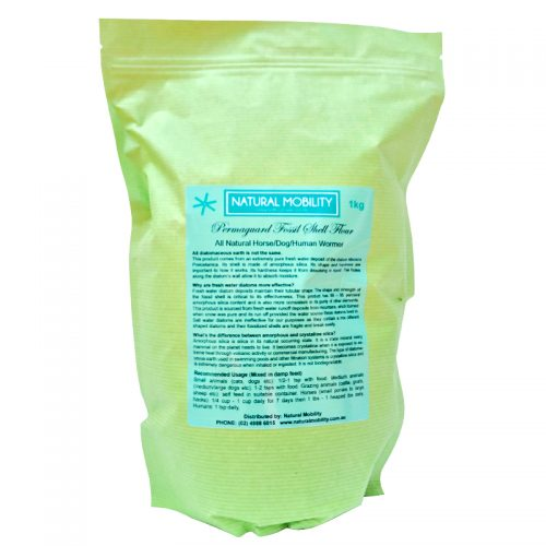Diatomaceous Earth for Dogs and Horses