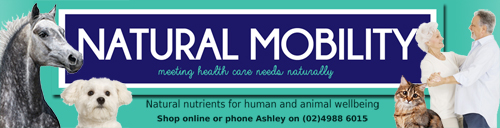Natural Mobility – Joint Pain Relief for horses, dogs and people Logo