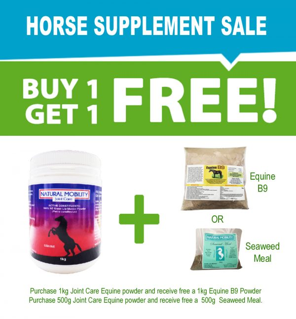 Joint Care For Horses BUY ONE GET ONE FREE