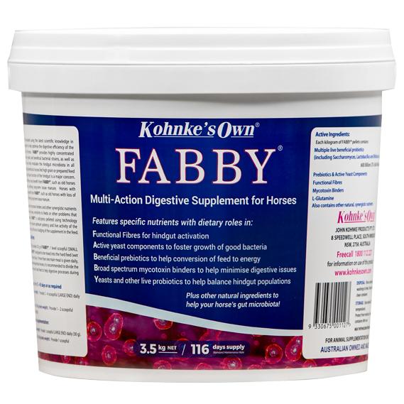 Kohnks Fabby Digestion Supplement for horses